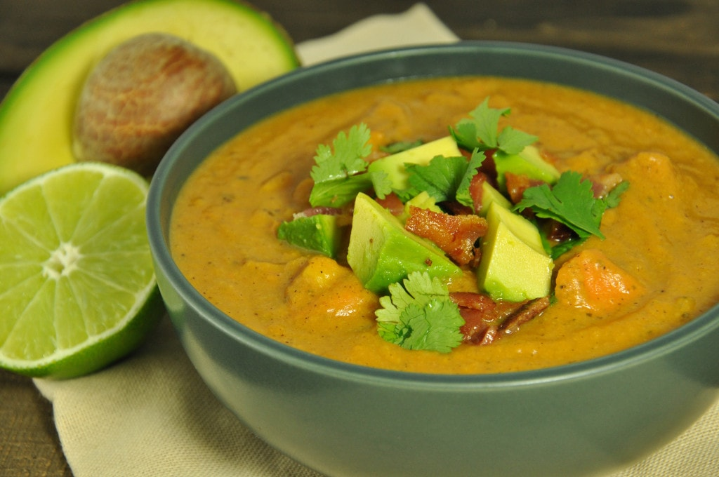 Hearty and healthy, this chipotle sweet potato soup packs a punch of ...