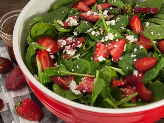 Strawberry Spinach Salad-17