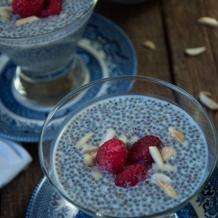 Almond Chia Seed Pudding
