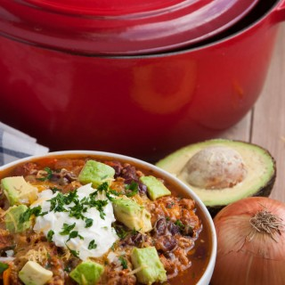 Turkey Chili with Veggies