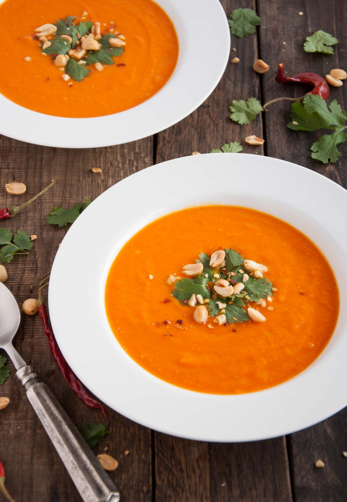 Curry Carrot Soup - Feasting not Fasting