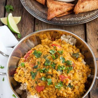 Indian Red Lentil Dal