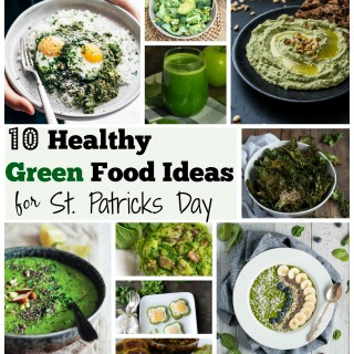 10 Healthy Green Food Ideas for St. Patricks Day