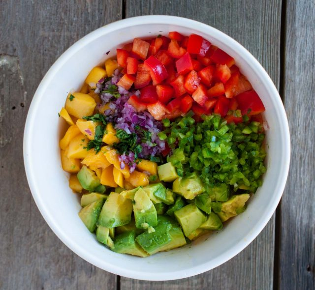 Mango salsa is a refreshing break from the usual with pops of fresh fruit, creamy avocado, and tangy lime. And its so easy, it can be ready in 15 minutes!