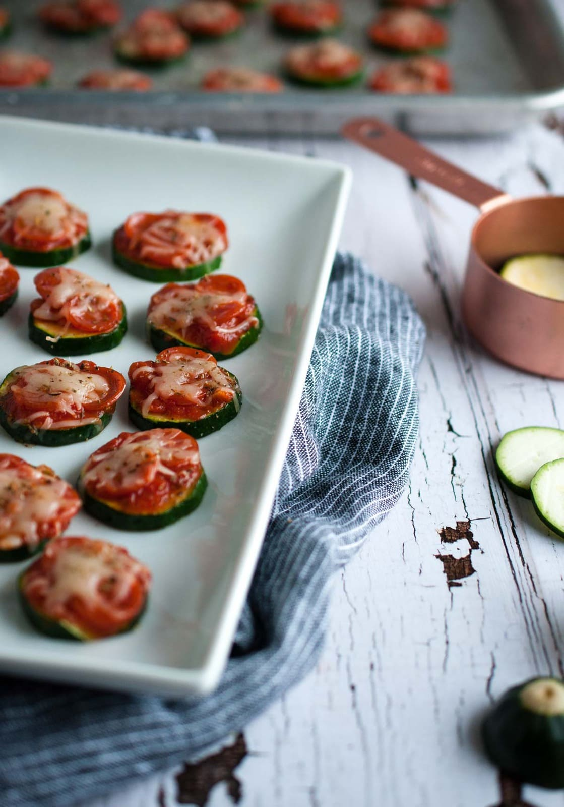 Zucchini pizza bites are the perfect snack for game day or any other ...