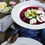 Cold Borscht – Chilled and the Best for Summer!