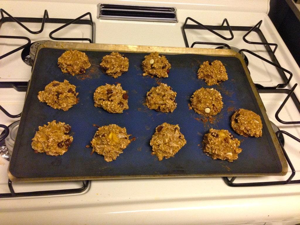 Banana Oatmeal Cookie Nugget Pan