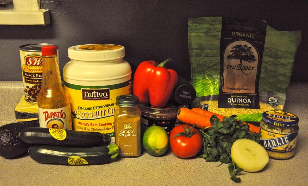 Black Bean Quinoa Casserole 1