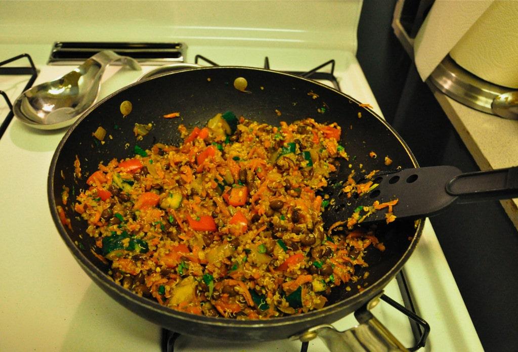 Black Bean Quinoa Casserole 3