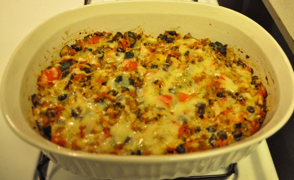 Black Bean Quinoa Casserole 4
