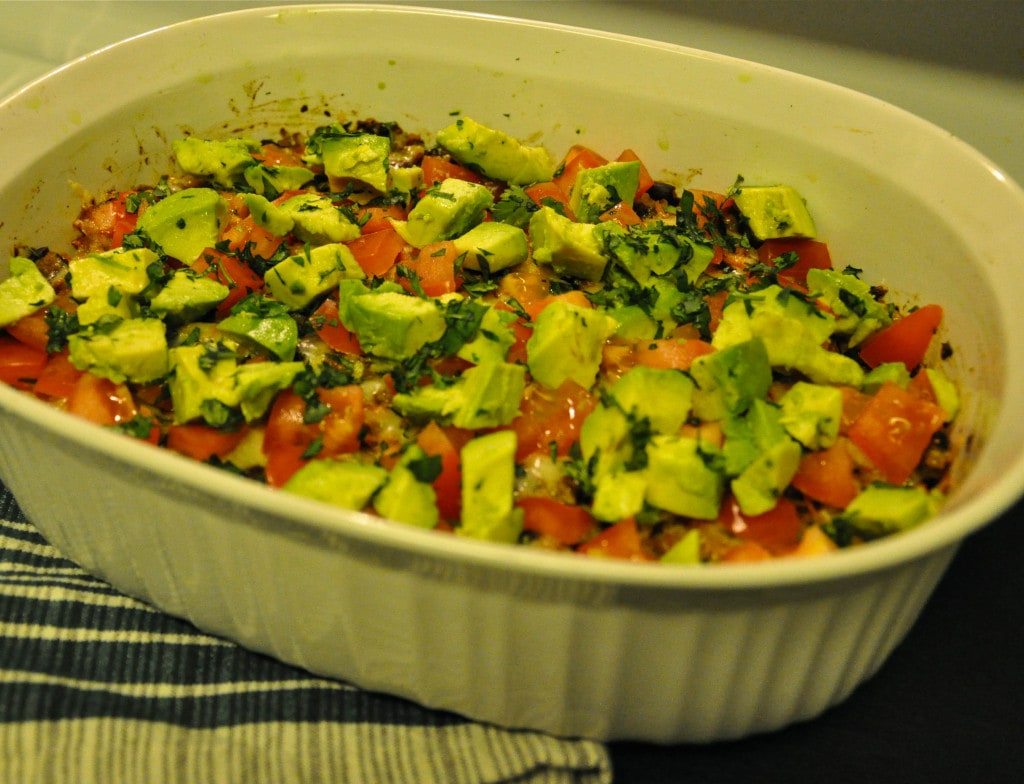 Black Bean Quinoa Casserole 5