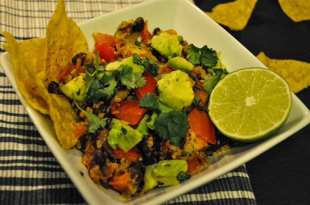 Black Bean Quinoa Casserole 6