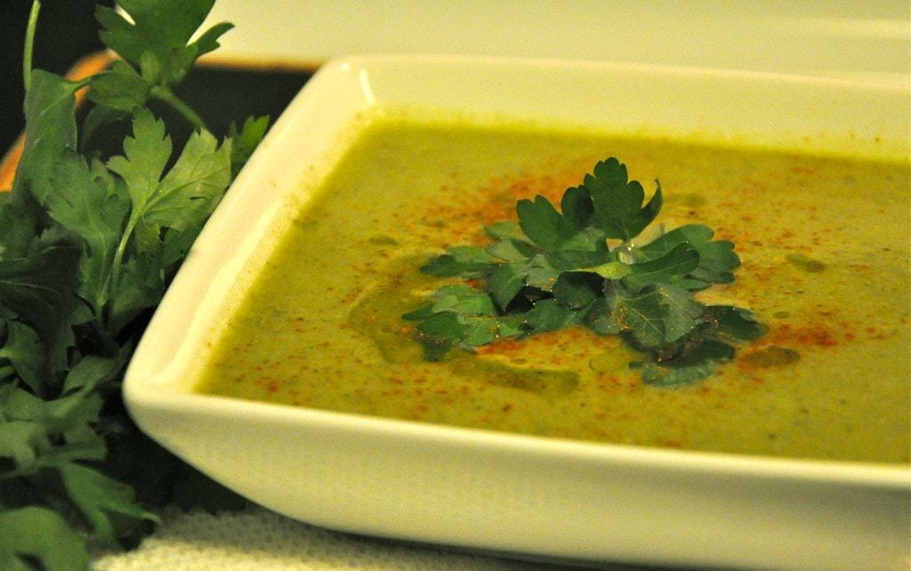 Spinach Cauliflower Soup 1