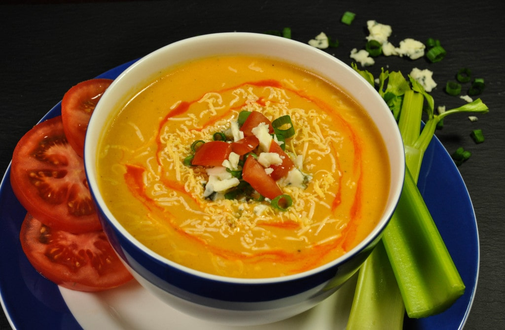 Buffalo chicken soup recipe