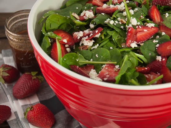 Strawberry Spinach Salad-13