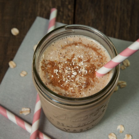 Vegan Banana Almond Milk Smoothie
