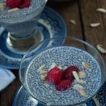 Almond Chia Seed Pudding