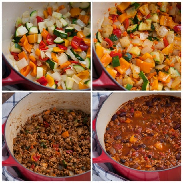 Turkey Chili With Veggies Feasting Not Fasting