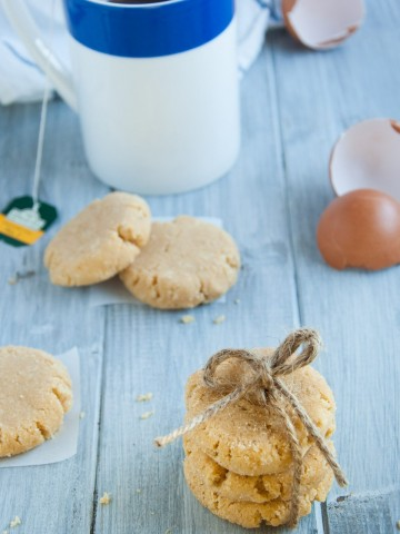 These gluten free coconut flour cookies are a coconut lovers dream with coconut flour, coconut oil, and no refined sugar - all this while being decadently sweet and tasty!