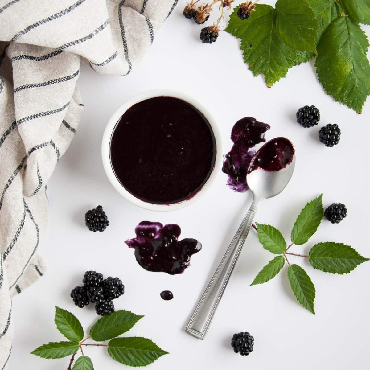 Balsamic Blackberry Vinaigrette