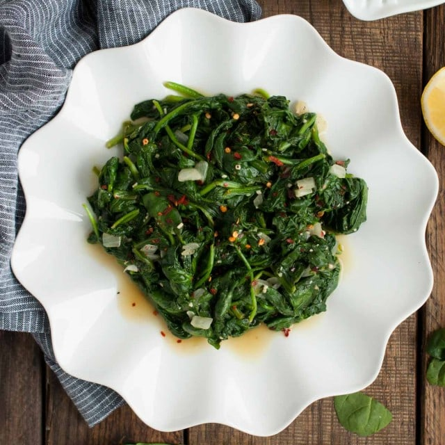 Side salad recipes spinach