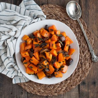 Fried Sage Butternut Squash Tossed in Brown Butter