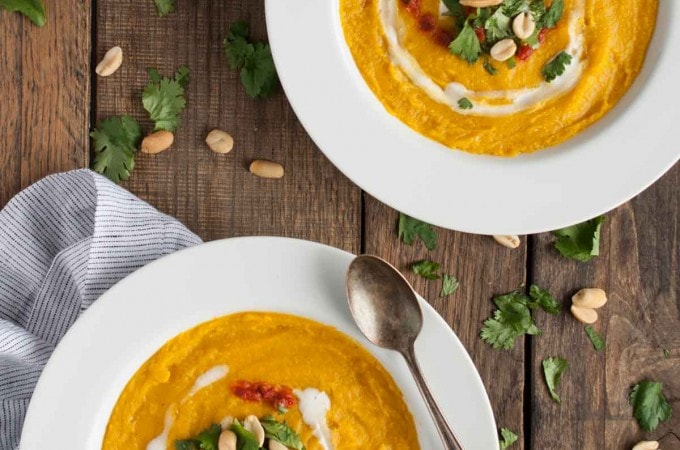 these kinds of light and healthy, creamy soups a breeze