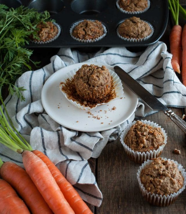Carrot And Banana Cake With Oil And Oatmeal