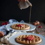 Oat Flour Waffles