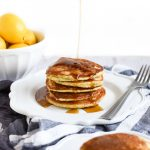 Lemon Poppy Seed Pancakes with Almond Flour